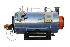 Improves efficiency due to water absorbing burner heat.